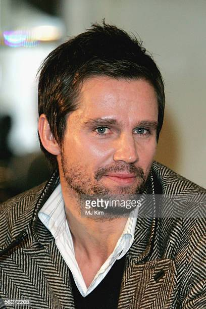 Former Take That band member Jason Orange attends a press conference to announce The Ultimate Tour 2006 at the Berkley Hotel on November 25 2005 in...