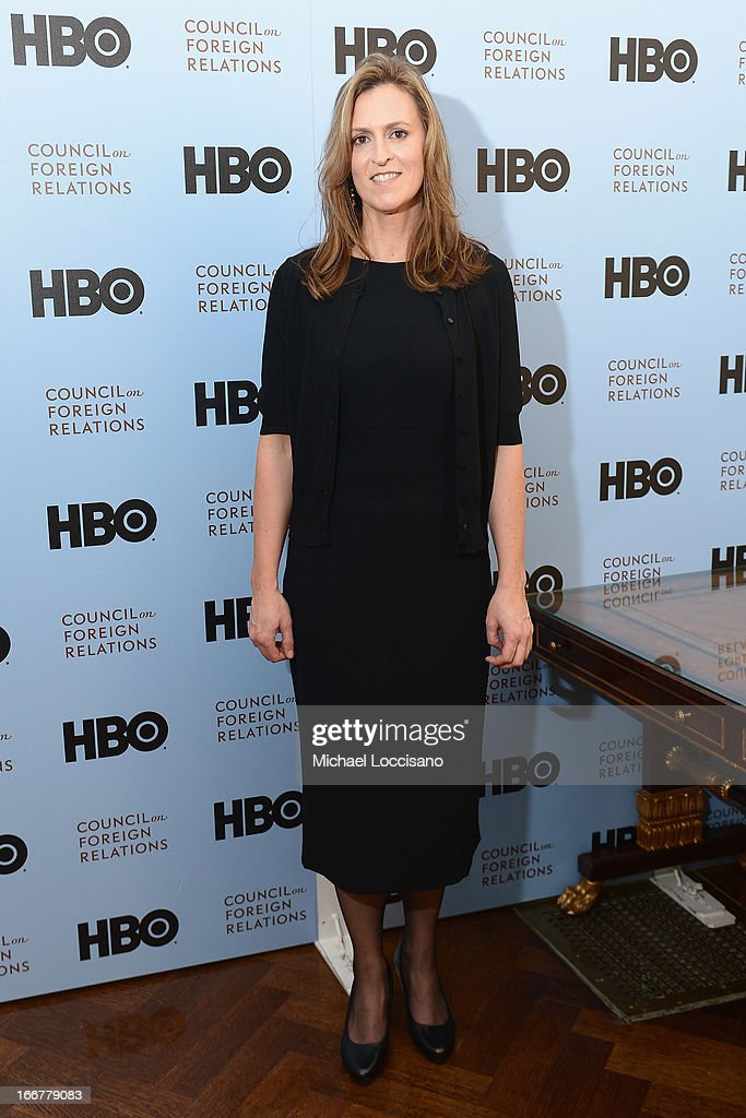 Former Targeting Officer for the CIA Nada Bakos attends the HBO Documentary Films special screening of 'Manhunt' at Council on Foreign Relations on April 16, 2013 in New York City.