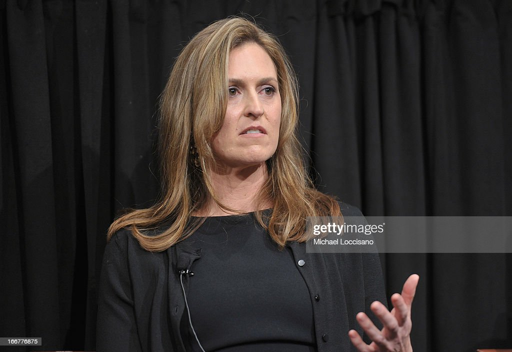 Former Targeting Officer for the CIA Nada Bakos takes part in a Q&A following the HBO Documentary Films special screening of 'Manhunt' at Council on Foreign Relations on April 16, 2013 in New York City.