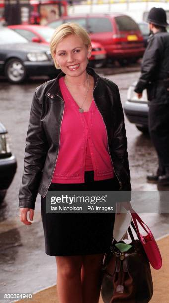 Former teacher Lisa Potts arriving for The Pride of Britain Awards at the Hilton Hotel in London The awards pay tribute to those who have most...