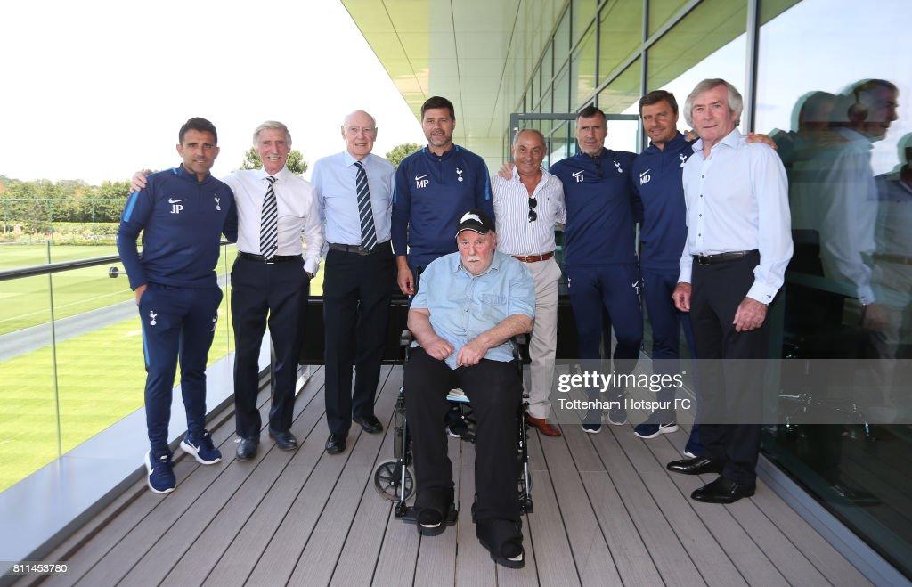 Tottenham Hotspur Greats Visit Pre Season Training