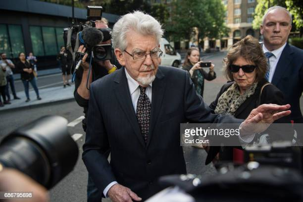 Former television entertainer Rolf Harris leaves Southwark Crown Court on May 22 2017 in London England Convicted sex offender Mr Harris is currently...
