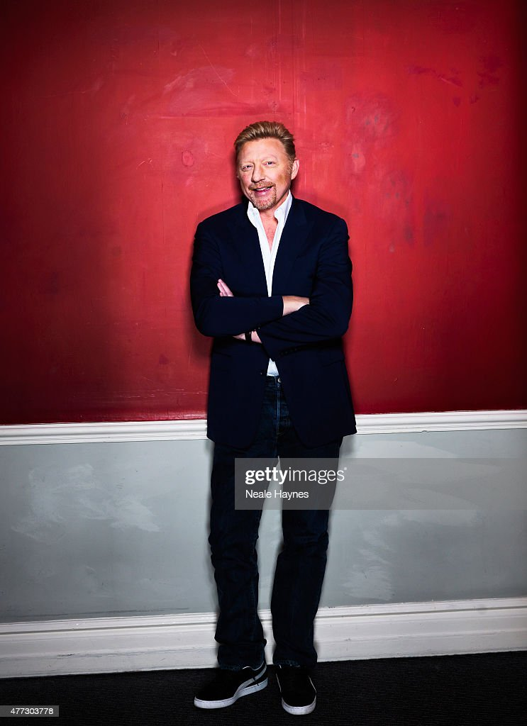 Former tennis champion <a gi-track='captionPersonalityLinkClicked' href=/galleries/search?phrase=Boris+Becker&family=editorial&specificpeople=67204 ng-click='$event.stopPropagation()'>Boris Becker</a> is photographed for Waitrose magazine on March 3, 2015 in London, England.