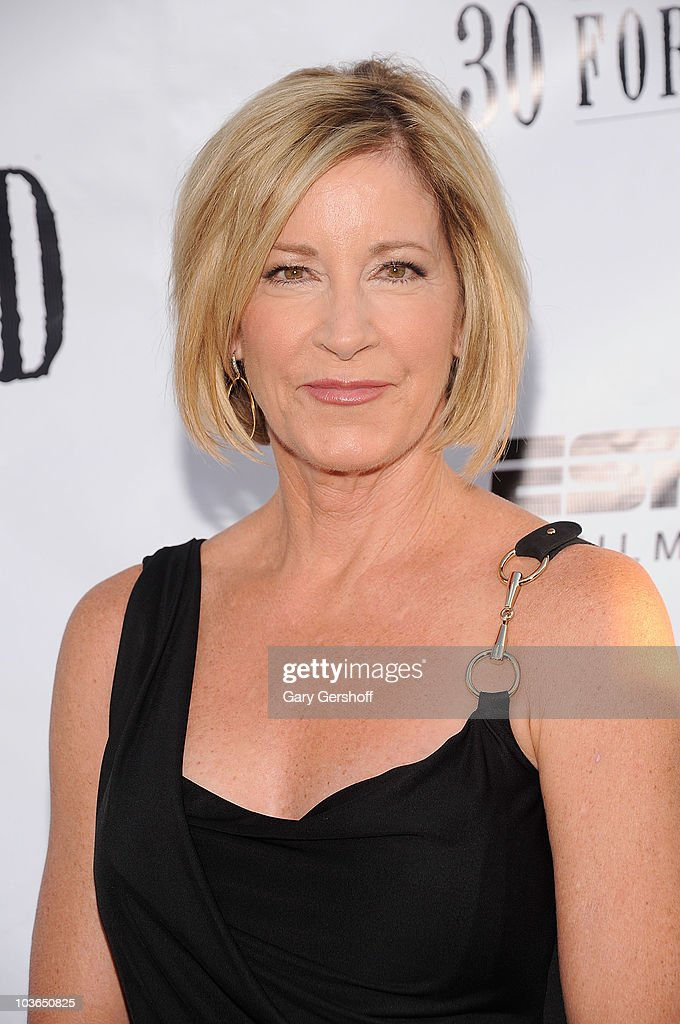 Former tennis champion Chris Evert attends the premiere of 'Unmatched' at Tribeca Cinemas on August 26, 2010 in New York City.