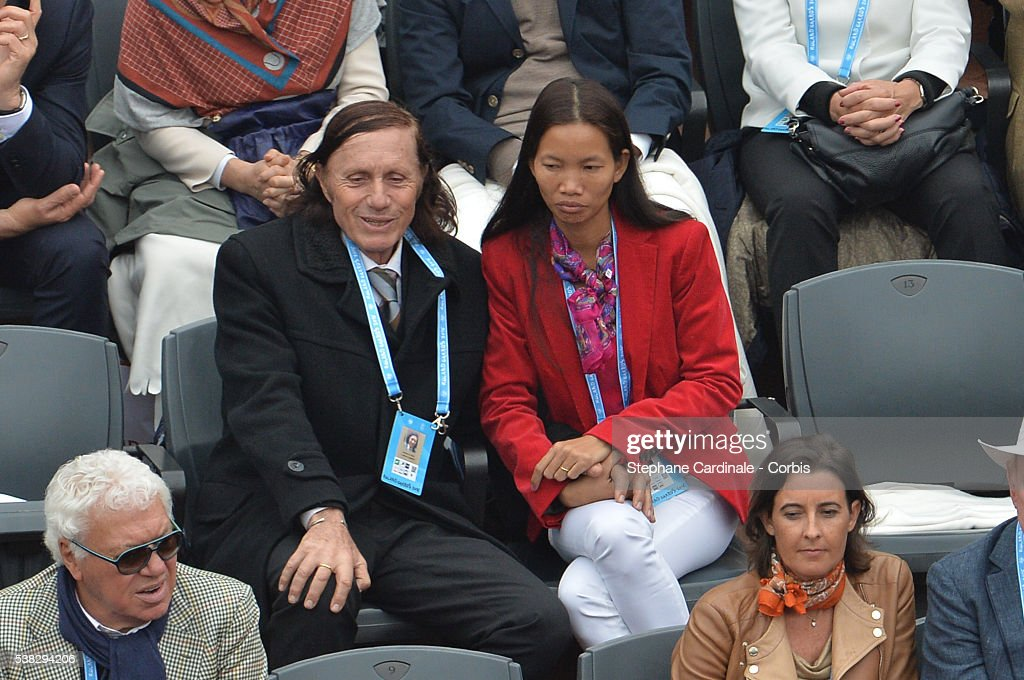 Former Tennis Player <a gi-track='captionPersonalityLinkClicked' href=/galleries/search?phrase=Guillermo+Vilas&family=editorial&specificpeople=605489 ng-click='$event.stopPropagation()'>Guillermo Vilas</a> attend the French Tennis Open Day Fifteen with the Final between Novak Djokovic and Andy Murray at Roland Garros on June 5, 2016 in Paris, France.
