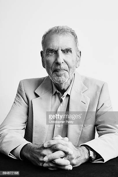 Former Time Warner Chairman/CEO Jerry Levin is photographed for The Hollywood Reporter on June 14 2016 in Venice California Published Image