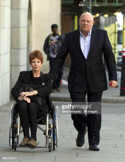 Former Today newspaper owner Eddy Shah and his wife Jennifer arrive at the Old Bailey in London where Shah faces a charge of rape