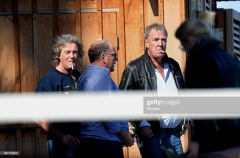 Former 'Top Gear' host <a gi-track='captionPersonalityLinkClicked' href=/galleries/search?phrase=Jeremy+Clarkson&family=editorial&specificpeople=217586 ng-click='$event.stopPropagation()'>Jeremy Clarkson</a> and <a gi-track='captionPersonalityLinkClicked' href=/galleries/search?phrase=James+May&family=editorial&specificpeople=2709599 ng-click='$event.stopPropagation()'>James May</a> are seen in Sydney, New South Wales.