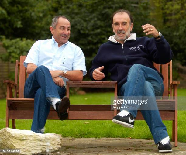 Former Tottenham Hotspur and Argentina footballers Osvaldo Ardiles and Ricardo Villa reunited in London on the 25th April 2006