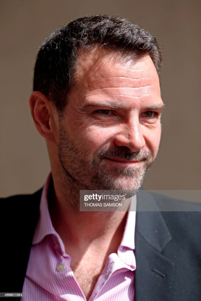 Former trader Jerome Kerviel arrives at the appeal Court of Versailles on April 15 2015 The court decided that the appeal civil case of Kerviel...