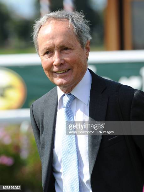 Former trainer Alan Jarvis in the parade ring during Day Four of the 2014 Welcome To Yorkshire Ebor Festival at York Racecourse York PRESS...