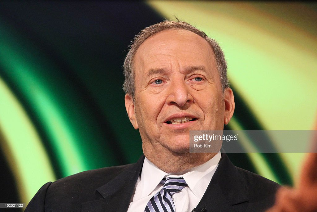 Former Treasury Secretary Larry Summers visits FOX Business Network at FOX Studios on January 30, 2015 in New York City.