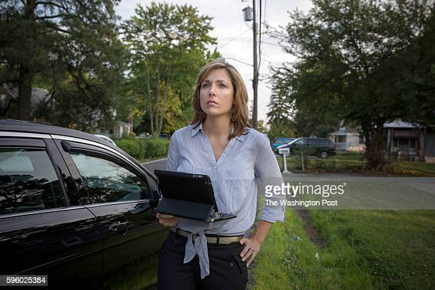 Former TV news anchor Julie Parker live tweets during a ride along with the Prince George's Police department Prince George's County is leveraging...