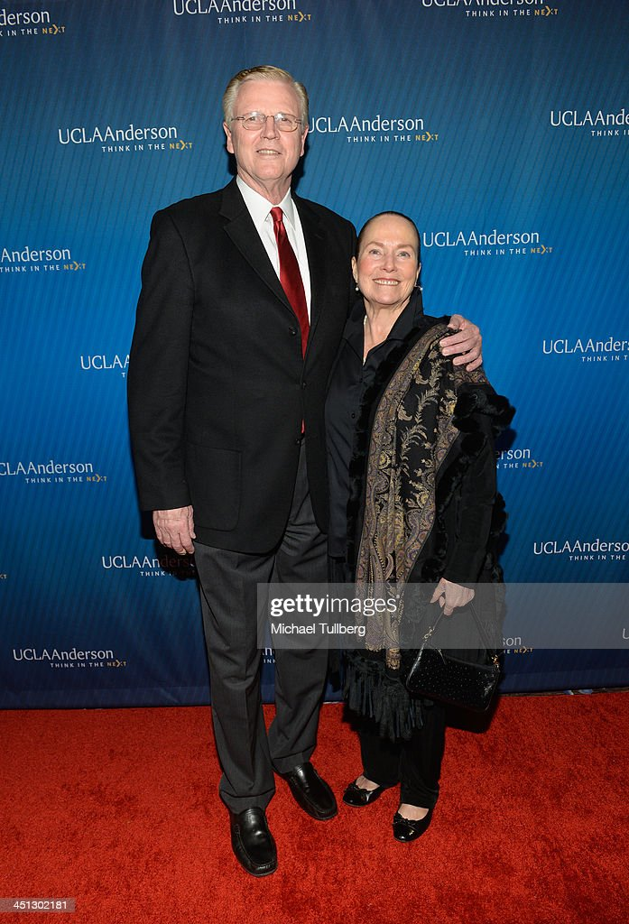 Former UCLA basketball player Keith Erickson and wife attend the 2013 John Wooden Global Leadership Awards hosted by the UCLA Anderson School of Management at The Beverly Hilton Hotel on November 21, 2013 in Beverly Hills, California.
