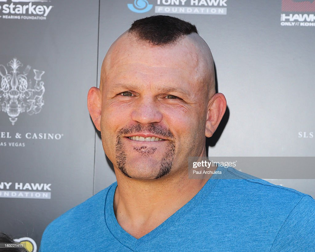 Former UFC Fighter <a gi-track='captionPersonalityLinkClicked' href=/galleries/search?phrase=Chuck+Liddell&family=editorial&specificpeople=608181 ng-click='$event.stopPropagation()'>Chuck Liddell</a> attends the 10th Annual Stand Up For Skateparks benefiting the Tony Hawk Foundation on October 5, 2013 in Beverly Hills, California.