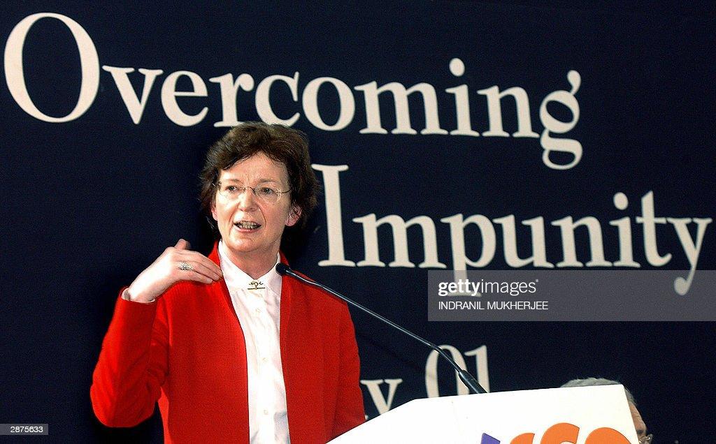 Mary Robinson january