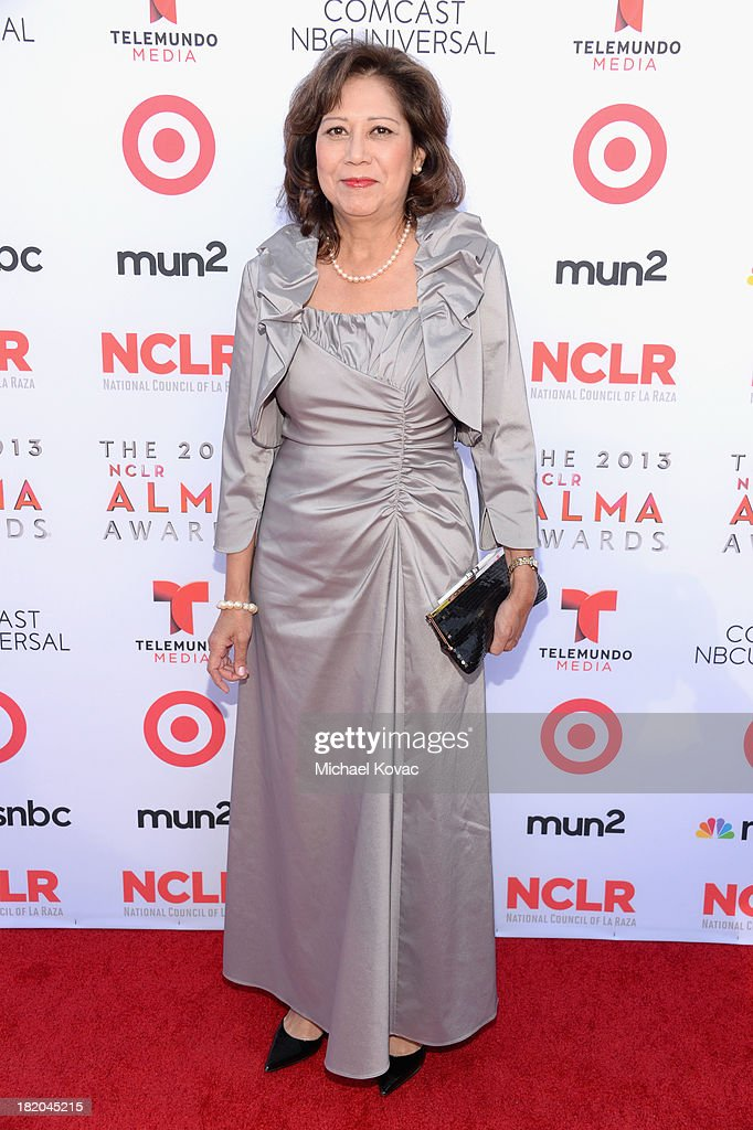Former United States Secretary of Labor Hilda Solis attends the 2013 NCLR ALMA Awards at Pasadena Civic Auditorium on September 27 2013 in Pasadena...