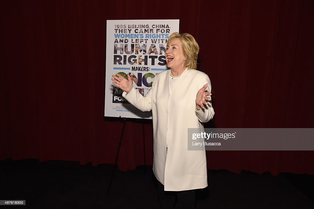 Clanton (AL) United States  city images : Former United States Secretary of State Hillary Clinton attends AOL's ...
