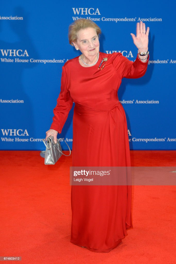 Former United States Secretary of State Madeleine Albright attends the 2017 White House Correspondents' Association Dinner at Washington Hilton on April 29, 2017 in Washington, DC.