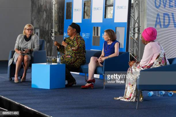 Former US Deputy National Security Advisor and Ambassador to the United Nations Nancy Soderberg Nobel Laureate Liberian Peace Activist and Women's...
