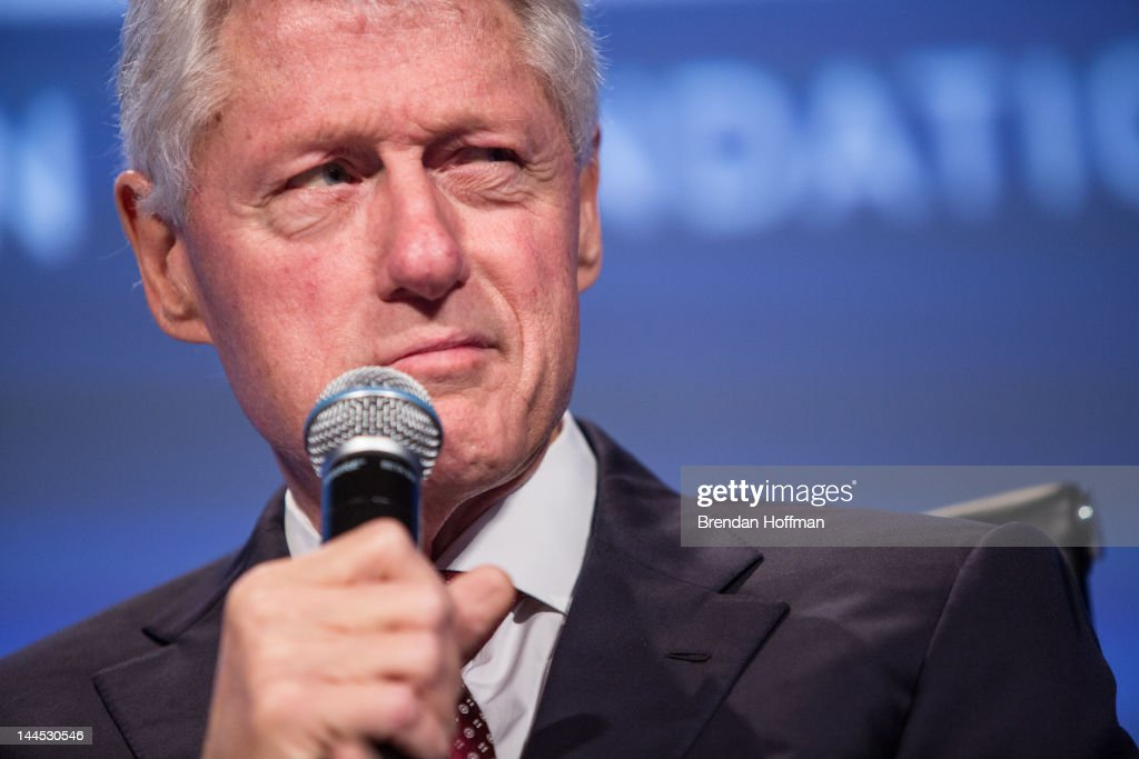 Former U.S. President <a gi-track='captionPersonalityLinkClicked' href=/galleries/search?phrase=Bill+Clinton&family=editorial&specificpeople=67203 ng-click='$event.stopPropagation()'>Bill Clinton</a> speaks at the 2012 Fiscal Summit on May 15, 2012 in Washington, DC. The third annual summit, held by the Peter G. Peterson Foundation, explored the theme 'America's Case for Action.'
