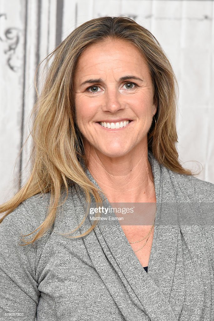 Former U.S. Professional Soccer player Brandi Chastain attends AOL Build Speaker Series - Soccer Hall Of Fame Inductee Brandi Chastain Discusses Olympic Games at AOL HQ on July 20, 2016 in New York City.