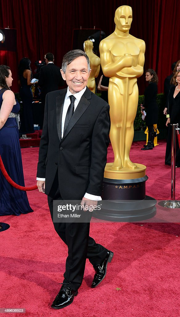 Former US Rep Dennis Kucinich attends the Oscars held at Hollywood Highland Center on March 2 2014 in Hollywood California