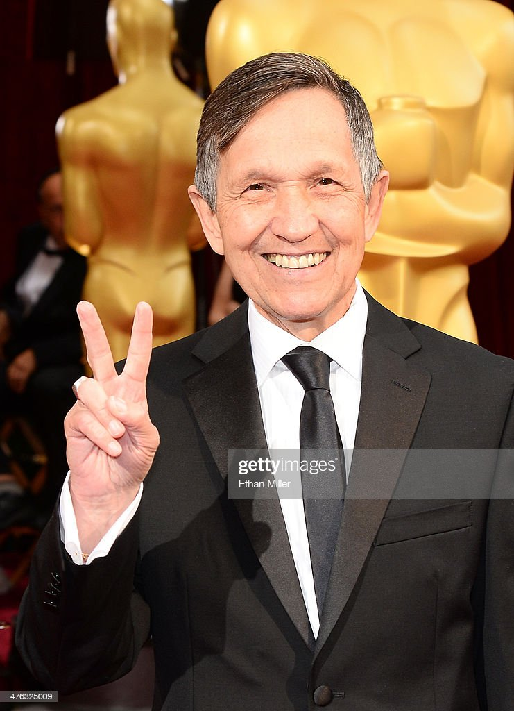 Former US Representative Dennis Kucinich attend the Oscars held at Hollywood Highland Center on March 2 2014 in Hollywood California