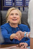 """Hillary Rodham Clinton Book Signing For """"What Happened"""""""