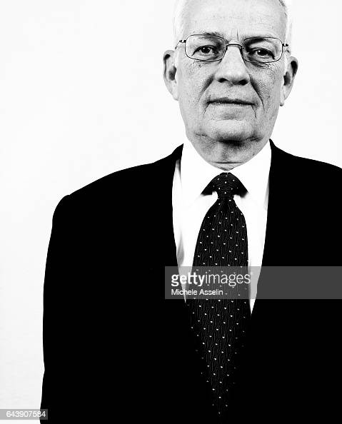 Former US Secretary of the Treasury Paul O'Neill is photographed at a portrait session in 2004 in New York City