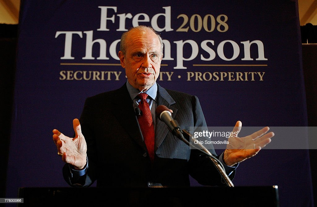 Fred Thompson Unveils Plan To Save Social Security