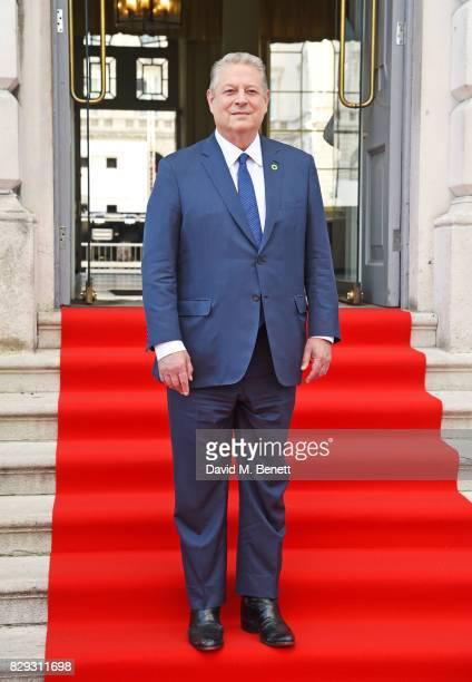 Former US Vice President Al Gore attends the Film4 Summer Screen Opening Screening of 'An Inconvenient Sequel Truth To Power' at Somerset House on...