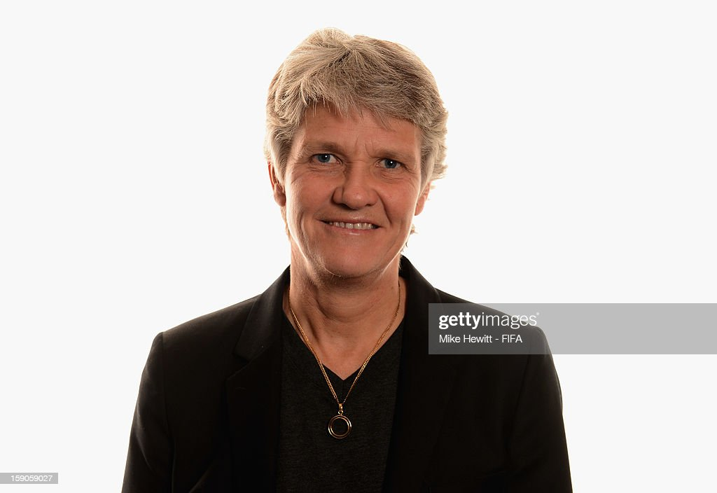 Former US Women's Soccer Coach Pia Sundhage of Sweden poses for a portrait prior to the FIFA Ballon d'Or Gala 2012 at the Kongresshaus on January 7, 2013 in Zurich, Switzerland.