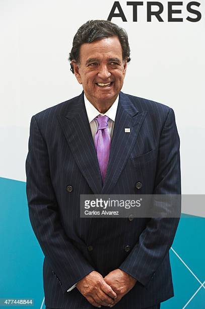 Former USA New Mexico Governor Bill Richardson attends the Management Business Summit 2015 at the Palacio Municipal de Congresos on June 17 2015 in...
