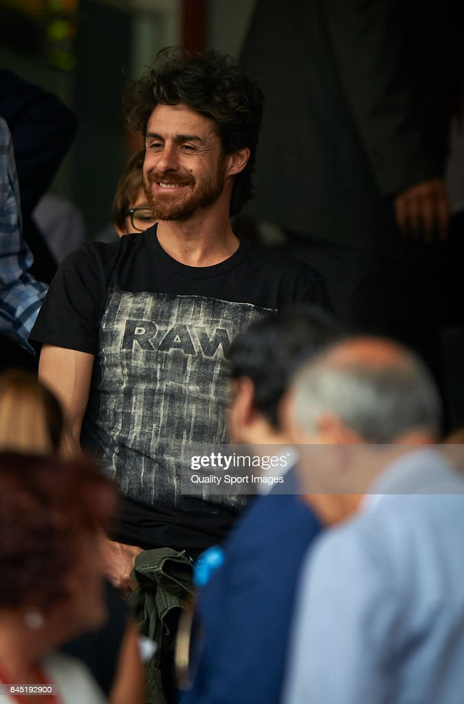 Former Valencia CF player Pablo Aimar prior the La Liga match between Valencia CF and Atletico Madrid at Mestalla Stadium on September 9, 2017 in Valencia, Spain.