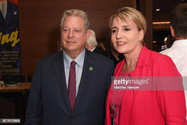 Former Vice President Al Gore and german politician Simone Peter attend a special screening of 'An Inconvenient Sequel Truth to Power' at Zoo Palast...