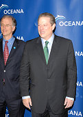 Former Vice President Al Gore arrives to the annual Oceana Partner's Awards Gala honoring him at the home of Jena and Michael King in Pacific...