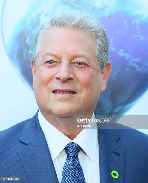 Former Vice President Al Gore attends a screening of Paramount Pictures' 'An Inconvenient Sequel Truth To Power' on July 25 2017 in Hollywood...