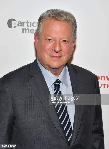 Former Vice President Al Gore attends a special Toronto screening of 'An Inconvenient Sequel Truth to Power' at Cineplex Scotiabank Theatre on July...