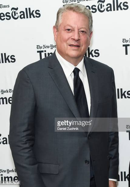 Former Vice President Al Gore attends Times Talks at Tribeca Performing Arts Center on July 18 2017 in New York City