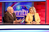 Former Vice President Dick Cheney and his daughter Liz Cheney visit FOX News Channel's 'Hannity' regarding their new book at FOX Studios on August 31...
