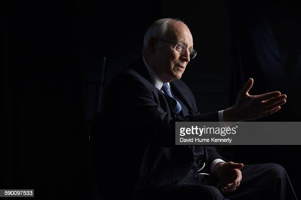 Former Vice President Dick Cheney is interviewed by executive producer Chris Whipple for 'The Presidents' Gatekeepers' project about White House...
