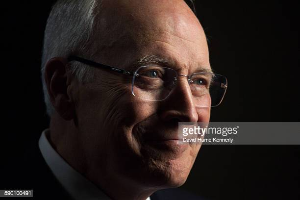 Former Vice President Dick Cheney is interviewed for 'The Presidents' Gatekeepers' project about White House Chiefs of Staff July 15 in Jackson...
