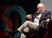 Former Vice President Dick Cheney presents 'Heart An American Medical Odyssey' in conversation with Dr Jonathan Reine at Miami Dade College on...