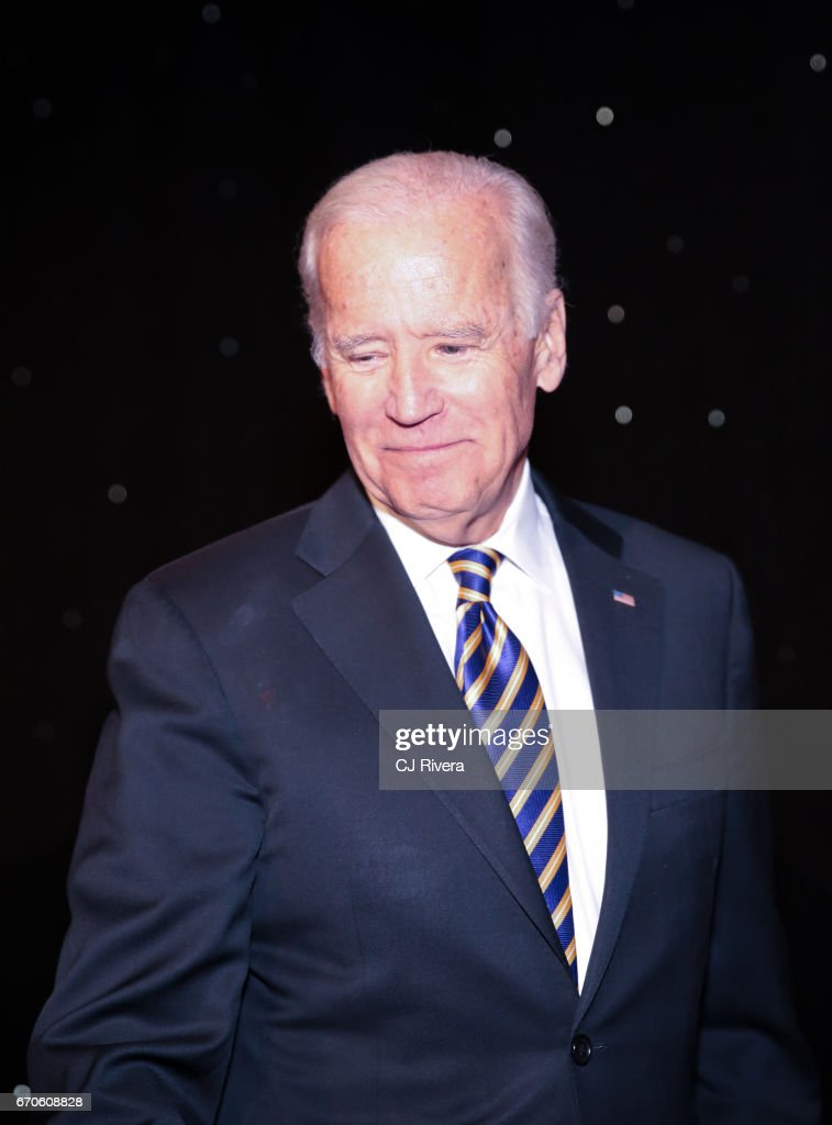 Former Vice President Joe Biden attends the 2017 Stars of Stony Brook Gala at Pier Sixty at Chelsea Piers on April 19, 2017 in New York City.