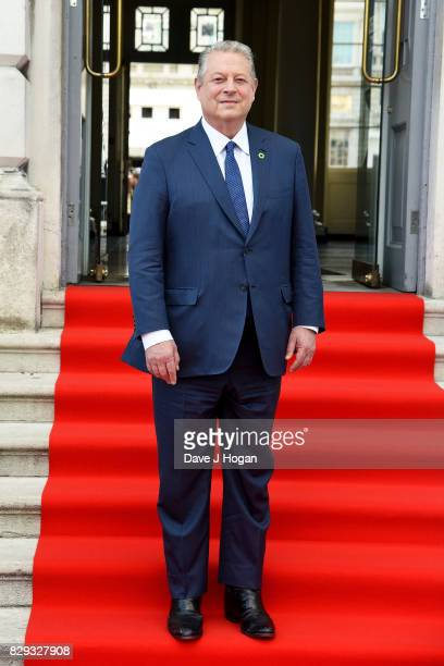 Former Vice President of the United States Al Gore attends the UK premiere of 'An Inconvenient Sequel Power To Truth' at Somerset House on August 10...