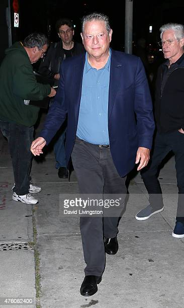 Former Vice President of the United States Al Gore is seen on June 5 2015 in West Hollywood California