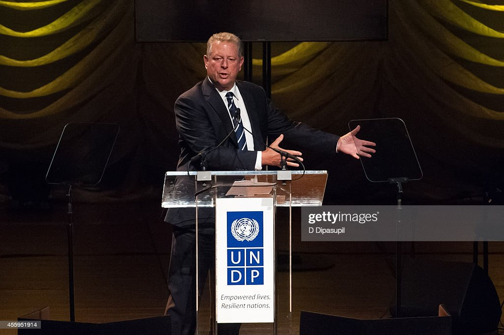 Lincoln (AL) United States  City new picture : of the United States Al Gore speaks on stage during the United ...