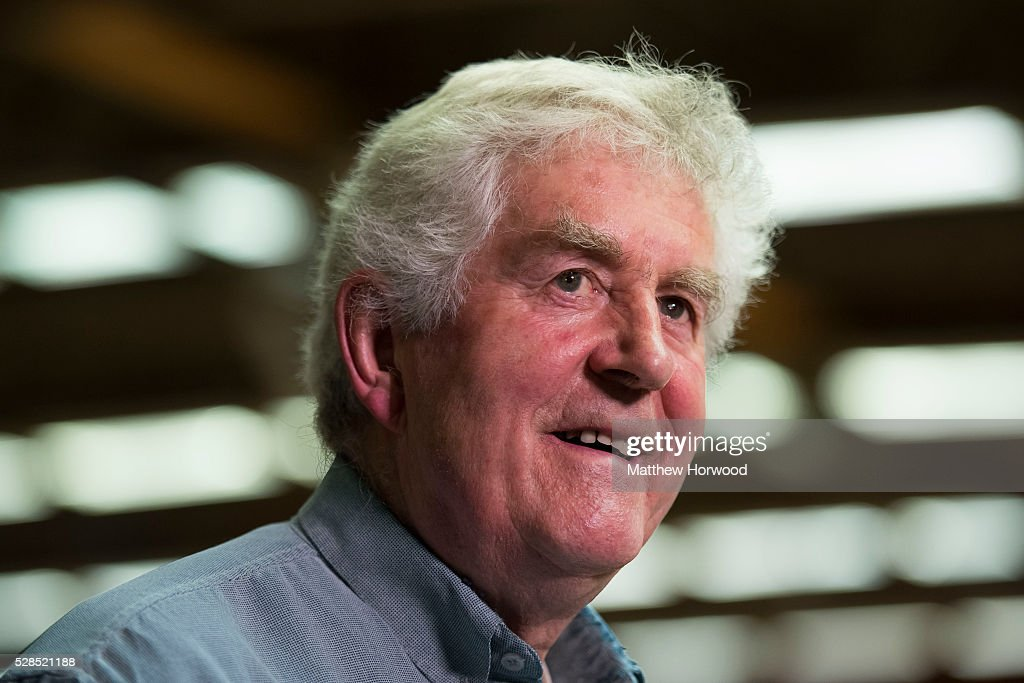 Former Wales First Minister Rhodri Morgan gives an interview during the National Assembly for Wales election count at the Sport Wales National Centre on May 05, 2016 in Cardiff, Wales. Today the UK went to the polls to vote for assembly members, councillors, mayors and police commissioners.