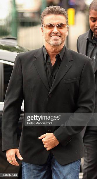 Former Wham singer George Michael appears at Brent Magistrates Court on May 8 2007 in London England Michael is charged with one count of being unfit...